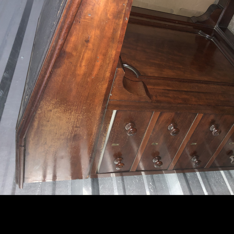 Antique 18th century captains desk