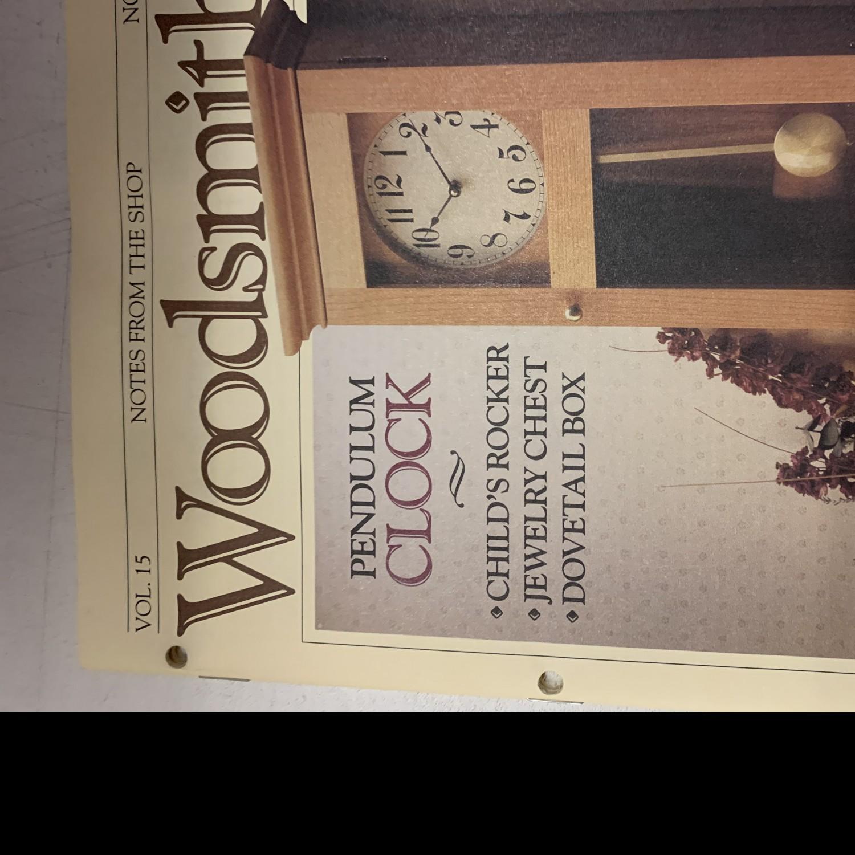 Vintage Fine Woodworking Magazines