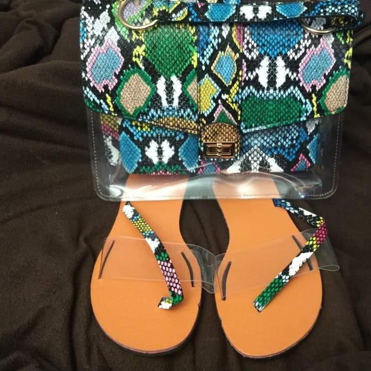 Purse and sandal set