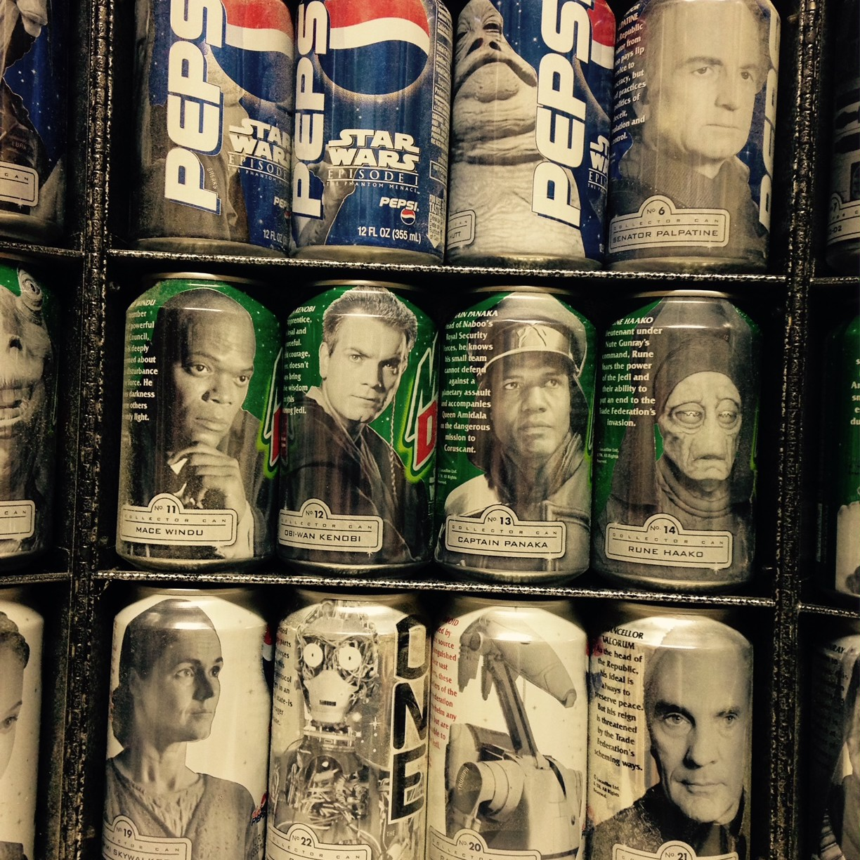 Pepsi One, Mountain Dew Star Wars Cans