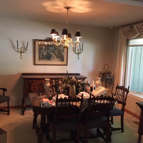 Heirloom Dining room set