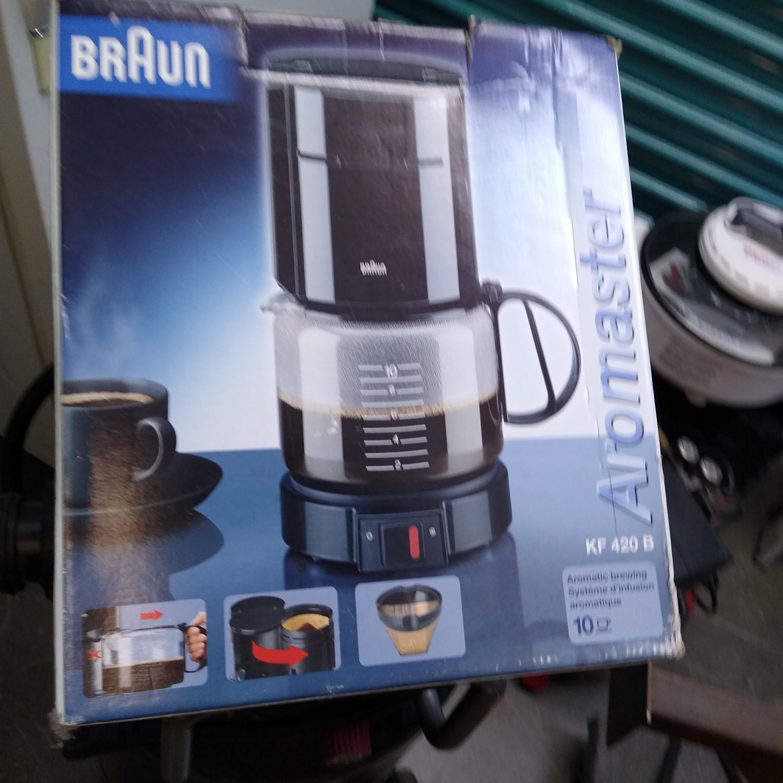NEW Braun 10-cup coffee maker