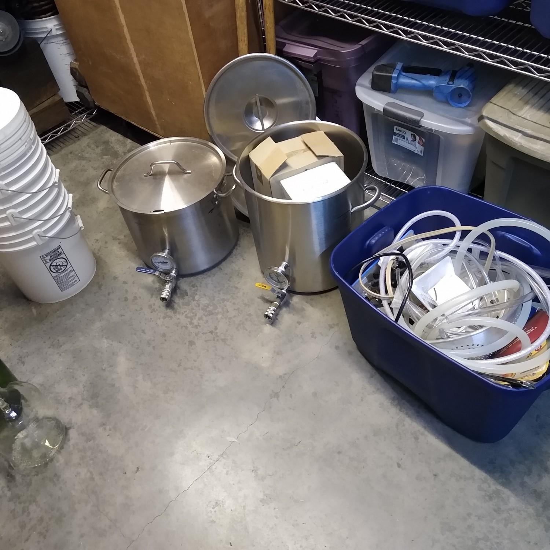 Homebrewing setup! Make your own beer!
